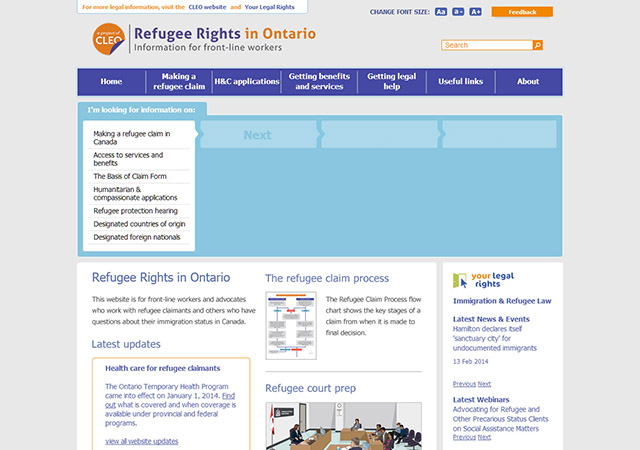 Refugee Rights in Ontario