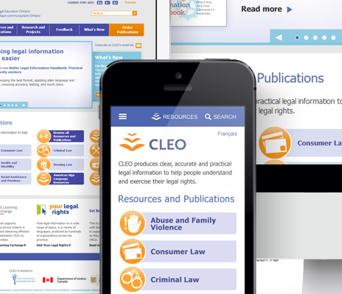 Portfolio - Web - CLEO
