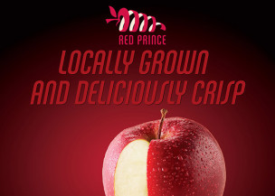 Red Prince Apple - Display Ad